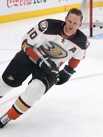 Corey Perry - Perry with the Ducks in 2016