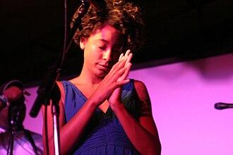 Corinne Bailey Rae - Corinne Bailey Rae performing live in 2006