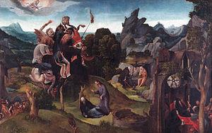 Cornelis Cornelisz Kunst - The trials of St. Anthony
