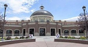Corner Canyon High School - Image: Corner Canyon High School Draper, Utah
