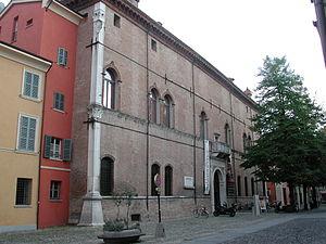 Correggio, Emilia-Romagna - Image: Correggio palazzo dei principi esterno