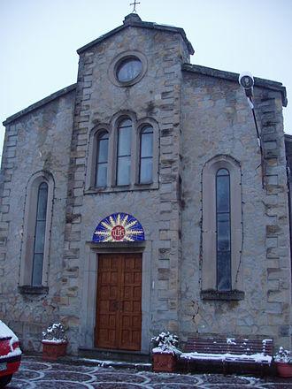 Cortino - Image: Cortino chiesa neve