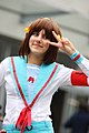 Cosplayer of Haruhi Suzumiya at Paris Manga 20100207b.jpg