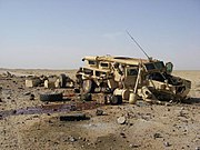 Cougar Hit By IED