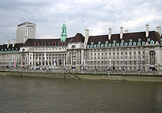 former HQ of Greater London Council and County of London