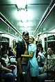 Couple on Moscow metro (2907355594).jpg
