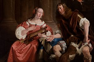 Jan de Bray - De Bray and his wife as Ulysses and Penelope, 1668