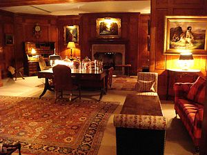 Covent Garden Hotel - The lavish drawing room
