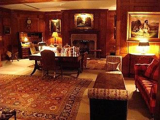 Covent Garden Hotel - The lavish drawing room
