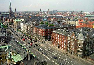 boulevard in Copenhagen