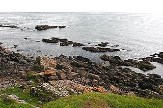 Craigmaroinn reef in the United Kingdom