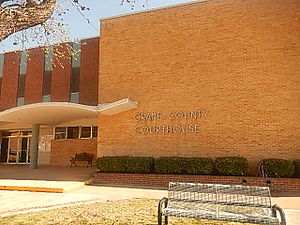Crane County, Texas - Image: Crane County, TX, Courthouse DSCN1369