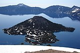 Crater Lake and Wizard Island - panoramio.jpg