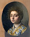 Cristofano allori, ritratto di donna, su rame 02.jpg