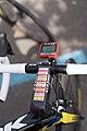 Critérium du Dauphiné 2014 - Etape 7 - Roadbook sur potence.jpg