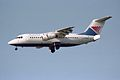 Croatia Airlines British Aerospace BAe-146-200 G-OZRH (27936578091).jpg