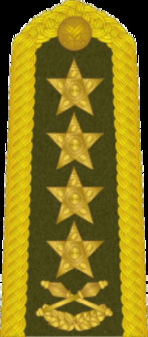 Ludvík Svoboda - Image: Cs Army 1960armadni general Shoulder