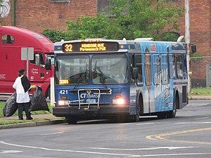 Connecticut Transit Hartford - Image: Cttransit 421