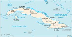 Géographie de Cuba — Wikipédia
