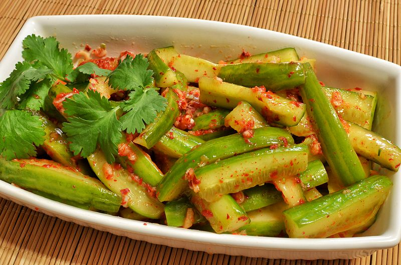 File:Cucumber kimchi (oi kimchi) (8580757490).jpg