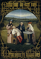 Hieronymus Bosch: A Extração da Pedra da Loucura