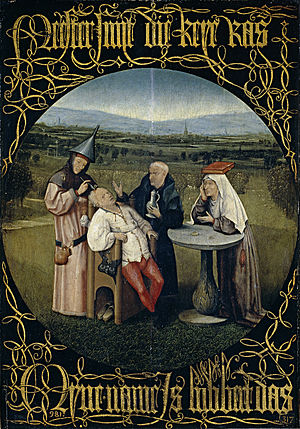 Cutting the Stone - Image: Cutting the Stone (Bosch)