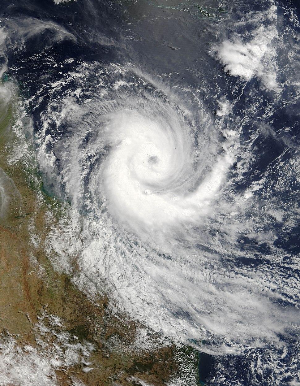 Cyclone Larry 19 mar 2006 0025Z