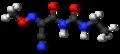 Cymoxanil 3D ball.png