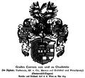 Czernin von und zu Chudenitz Grafen-Wappen 1623.png