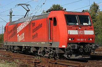 TRAXX - TRAXX F140 AC, DB Class 185