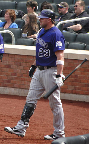 Jason Giambi - Giambi with the Colorado Rockies in 2011