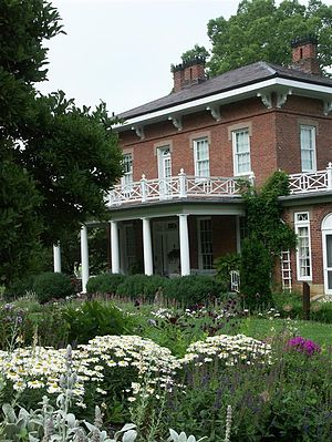 Dawes Arboretum - The Daweswood House in Summer