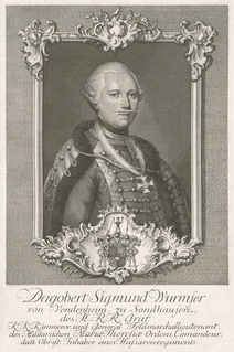 Dagobert Sigmund von Wurmser austrian marshall