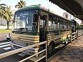 Daiko Hokubu Bus in front of Nakatsu Station.jpg