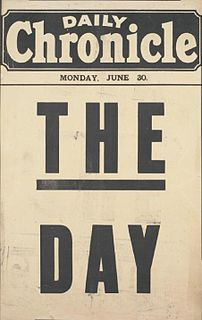 <i>Daily Chronicle</i> British newspaper