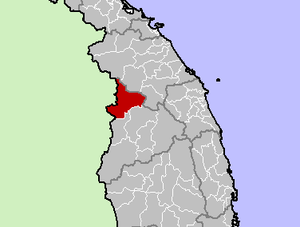 Location in Kon Tum province