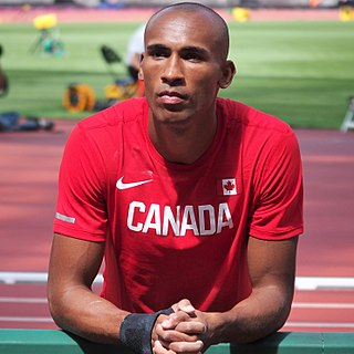 Damian Warner Canadian decathlete