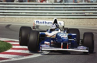 Formula One - Damon Hill driving for Williams at the 1995 Canadian Grand Prix