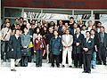 Daniel Oerther poses with the faculty and students of the 2002 NSF sponsored Environmental Biotechnology workshop in Rabat Morocco.jpg