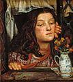 Dante Gabriel Rossetti - Girl at a Lattice.jpg