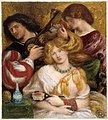 Dante Gabriel Rossetti - Morning Music (1864).jpg