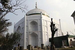 Darbare Hazrat Eshan after renovation by Khwaja Sardar Sayyid Mir Sultan Masood Dakik.jpg