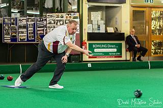 Darren Burnett British lawn bowls player