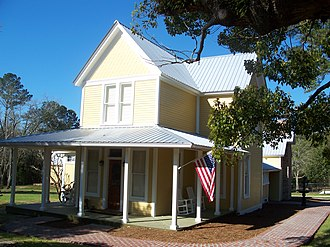 National Register of Historic Places listings in Walton County, Florida - Image: De Funiak Springs Biddle house 01