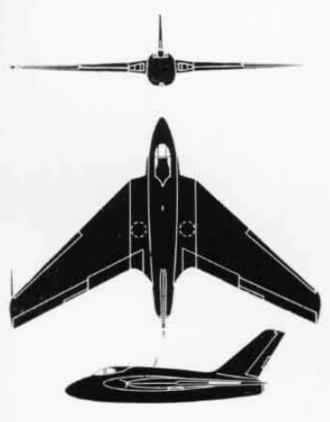 De Havilland DH 108 - De Havilland DH.108 Swallow