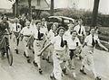 De damesgroep van de Amsterdamse Wandelsport Vereniging op de tweede dag van de – F40743 – KNBLO.jpg