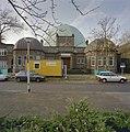 De voorgevel van de synagoge te Enschede tijdens de restauratie - Enschede - 20338431 - RCE.jpg
