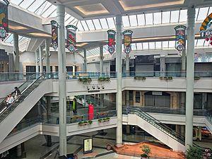Landmark Mall - Mall interior, 2015