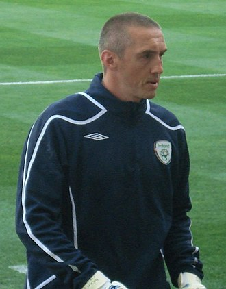 Dean Kiely - Kiely with the Republic of Ireland national team in 2008
