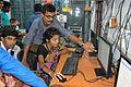 Debashri Pal Creating Wikipedia Account - Bangla Wikipedia National Seminar and Workshop - Hijli College - West Midnapore 2015-09-28 4456.JPG
